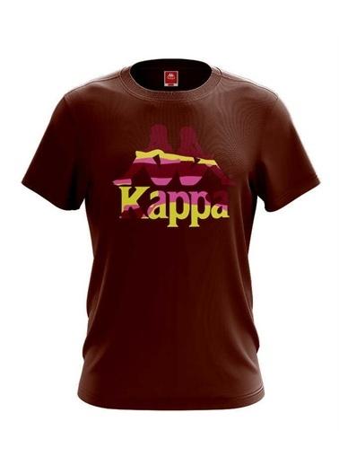 Kappa Erkek Baskılı T-Shirt Zelkal  Kahve